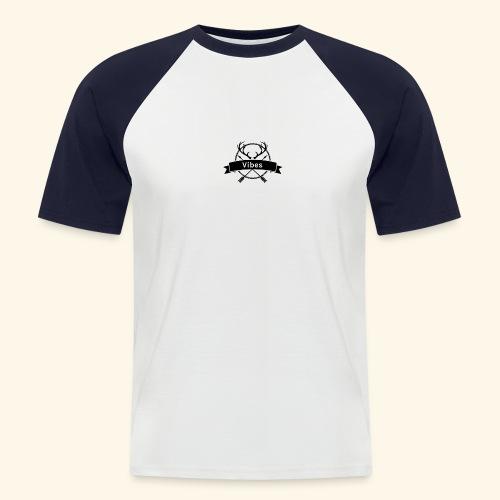 vibes - Männer Baseball-T-Shirt