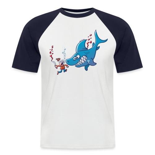 Sharks are Furious, Stop Finning! - Men's Baseball T-Shirt