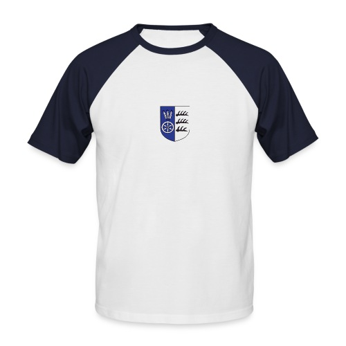 wappen marktvolk - Männer Baseball-T-Shirt