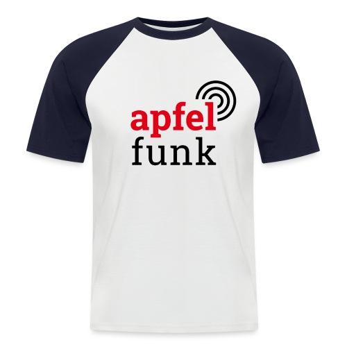 Apfelfunk Edition - Männer Baseball-T-Shirt