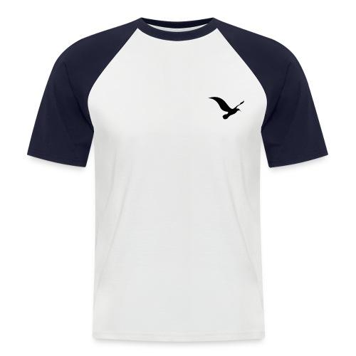 logo 3 - Kortærmet herre-baseballshirt