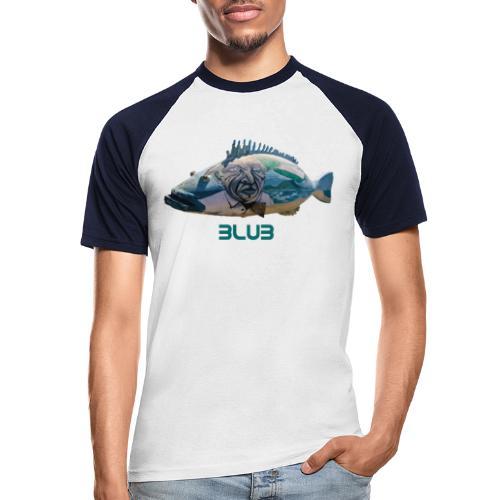Fisch - Männer Baseball-T-Shirt