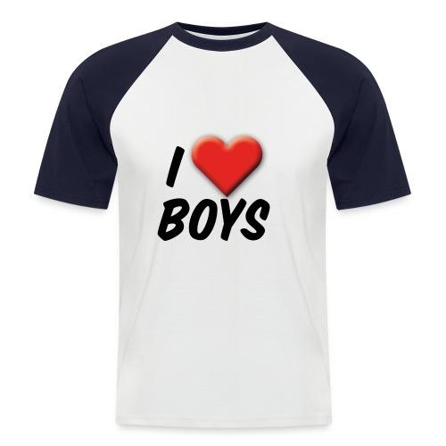 iloveboys 2 - Männer Baseball-T-Shirt