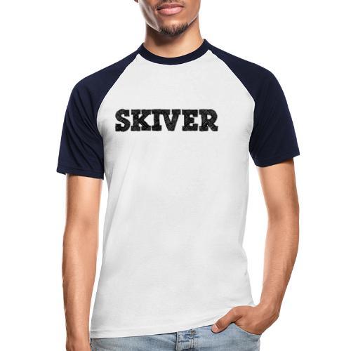 Skiver - Men's Baseball T-Shirt