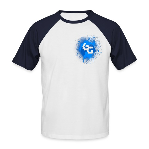 BatchGamingLogoXL - Men's Baseball T-Shirt