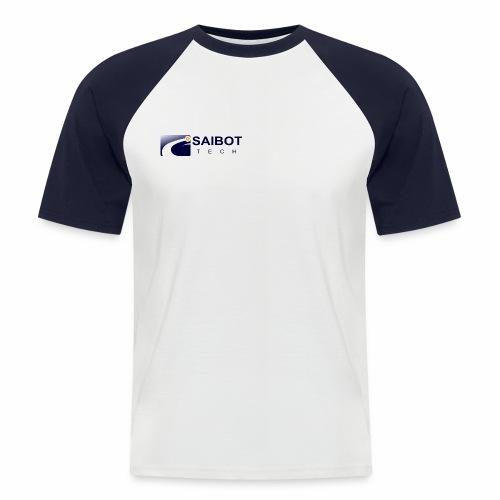 Logo saiboT-Tech flach - Männer Baseball-T-Shirt