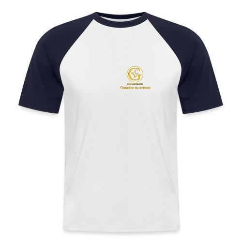 totalavnt - T-shirt baseball manches courtes Homme