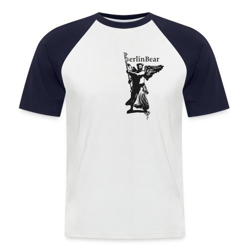 BerlinBear Logo - Männer Baseball-T-Shirt