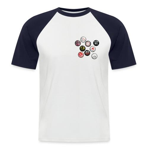 badgesCB - T-shirt baseball manches courtes Homme