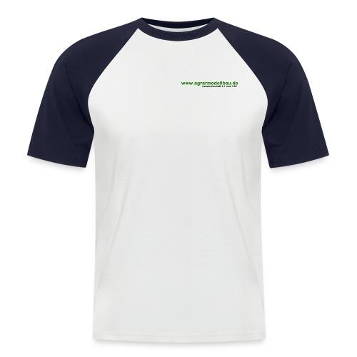 schriftzug trans - Männer Baseball-T-Shirt
