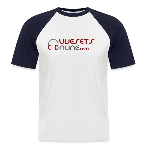 spreadshirt logo final - Men's Baseball T-Shirt