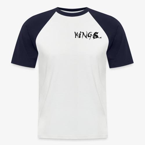 kings logo 2 png - Mannen baseballshirt korte mouw