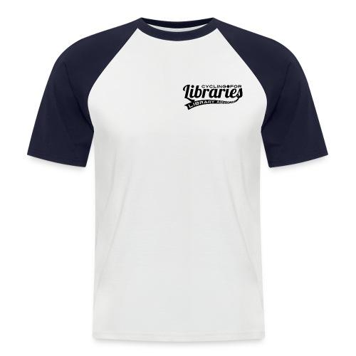 basic_black - Men's Baseball T-Shirt