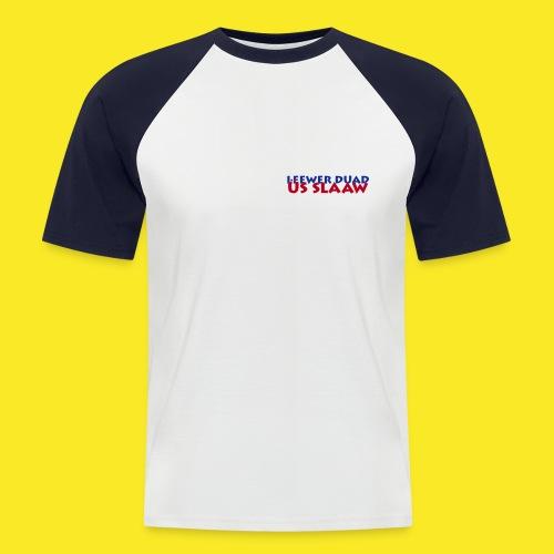 ldus8x2 - Männer Baseball-T-Shirt