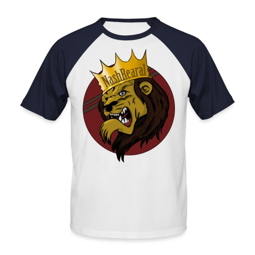 Nash_Rearal_neu - Männer Baseball-T-Shirt