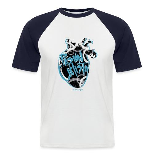 PASIÓN CICLISTA - Camiseta béisbol manga corta hombre