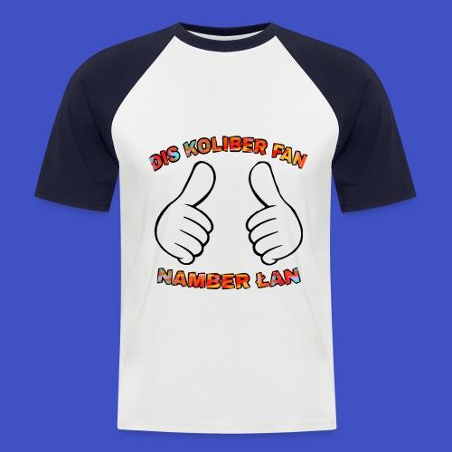 Fan #1 - Koszulka bejsbolowa męska