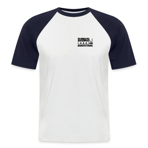 modified small logo - Men's Baseball T-Shirt