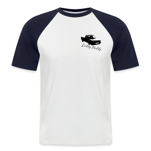 caddydaddylogo3 - Männer Baseball-T-Shirt