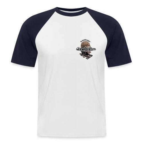 glob fuerw grd jpg - Männer Baseball-T-Shirt