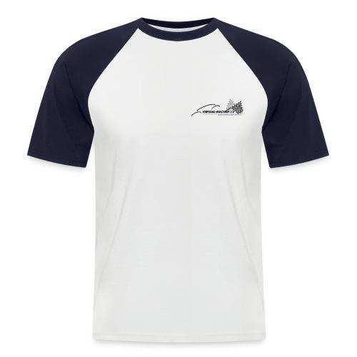 VR Logo BT png - Männer Baseball-T-Shirt