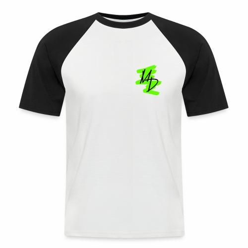 MD BRAND PNG Verde - Camiseta béisbol manga corta hombre