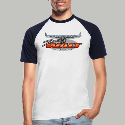 DocWalt / DoubleBrand (2fach-Logo Variante) - Männer Baseball-T-Shirt