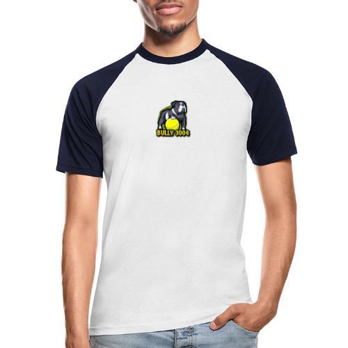 Logo Bully3004 - Männer Baseball-T-Shirt