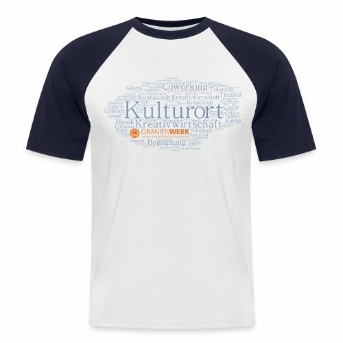 Kulturort Oranienwerk - Männer Baseball-T-Shirt