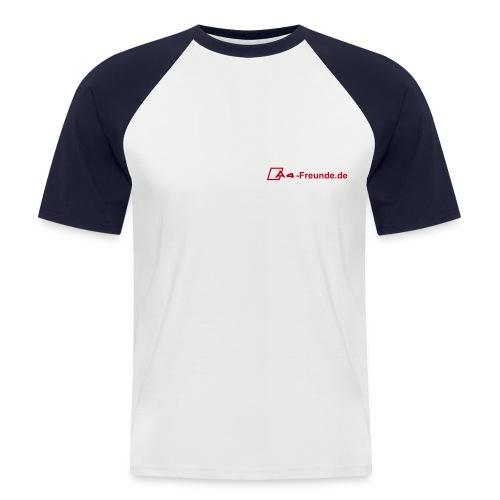 A4 Freunde de - Männer Baseball-T-Shirt