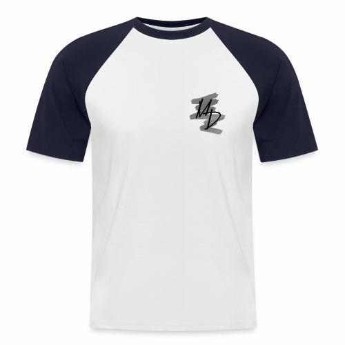 MD BRAND PNG b&w - Camiseta béisbol manga corta hombre