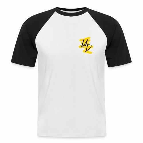 MD BRAND PNG Amarillo - Camiseta béisbol manga corta hombre