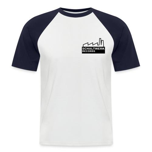 schaltwerk logo orginal - Männer Baseball-T-Shirt