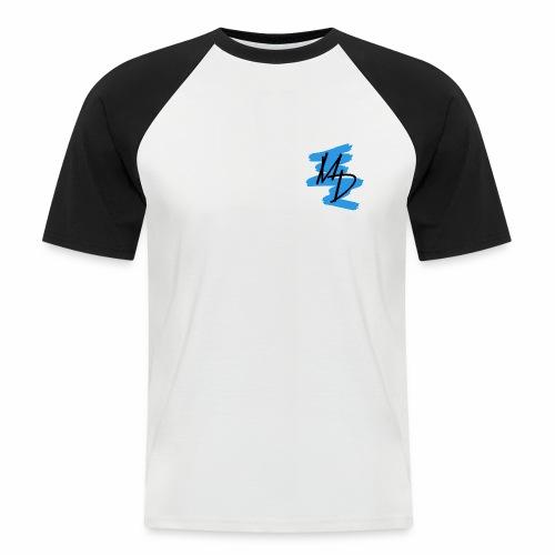 MD BRAND PNG Azul - Camiseta béisbol manga corta hombre