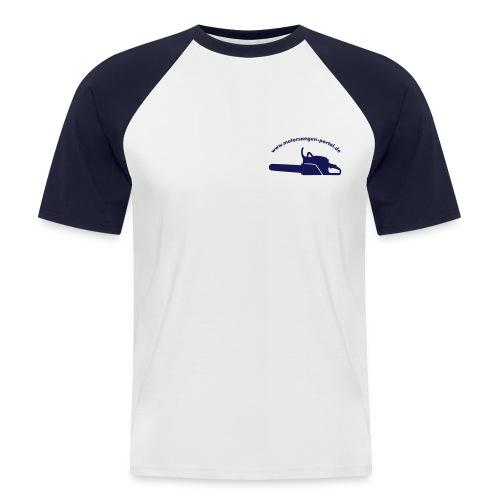 shirt front 01 - Männer Baseball-T-Shirt