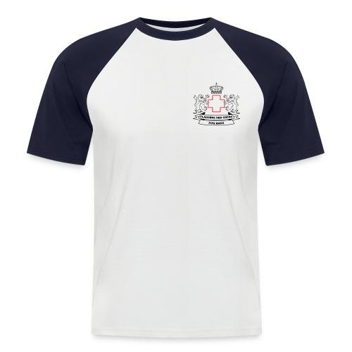 logo zwart PNG - Mannen baseballshirt korte mouw