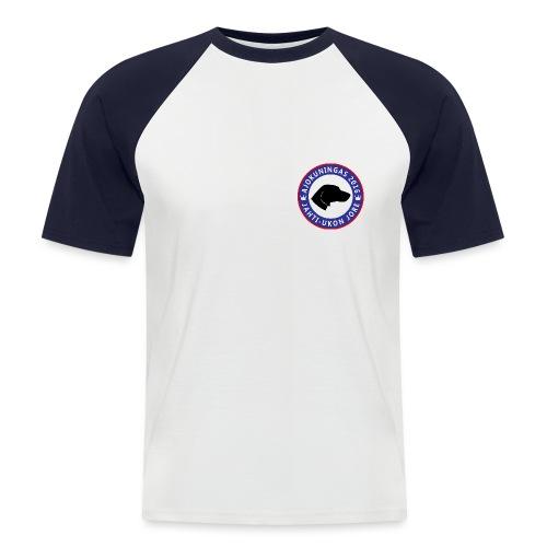 Ajokuningas t-paita - Miesten lyhythihainen baseballpaita