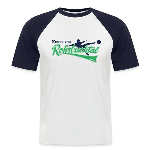 Kicker vom Rohrbachtal - Männer Baseball-T-Shirt