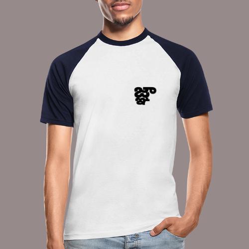 Binarux - Camiseta béisbol manga corta hombre