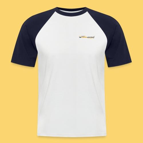 log 3 jpg - T-shirt baseball manches courtes Homme