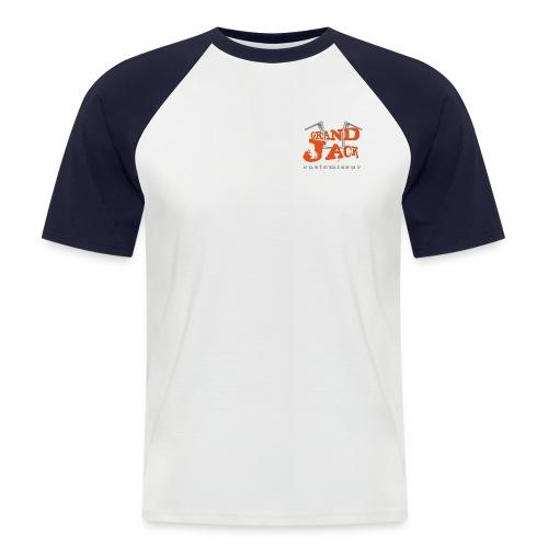grandjack - T-shirt baseball manches courtes Homme
