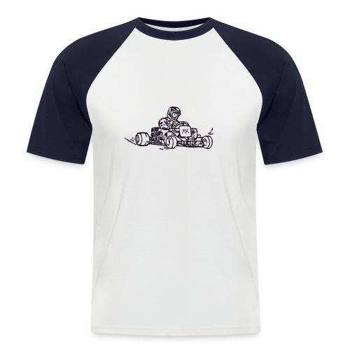 Kart - Männer Baseball-T-Shirt