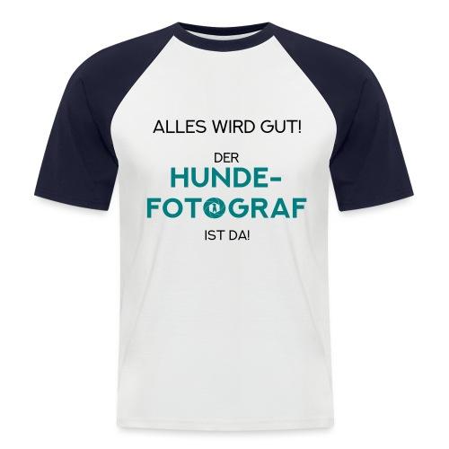 Der Hunde-Fotograf ist da! Geschenkidee / Design - Männer Baseball-T-Shirt