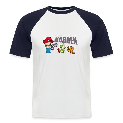 korben 2 dd orig2 - T-shirt baseball manches courtes Homme