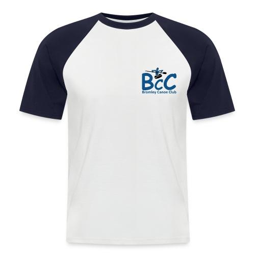 bcc logo - Men's Baseball T-Shirt