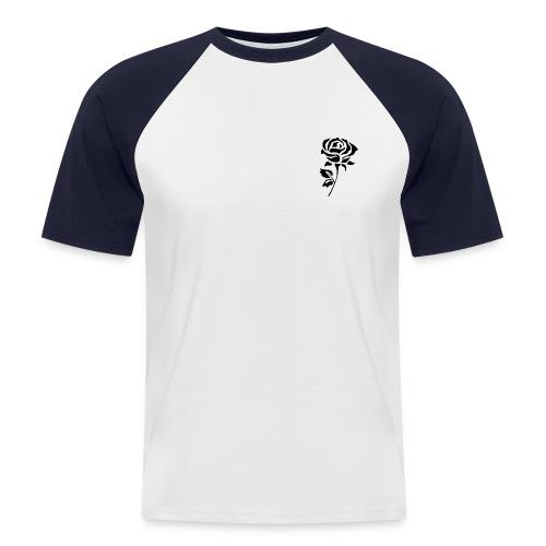 Black Rose - Men's Baseball T-Shirt