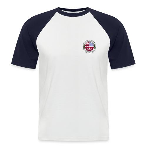 Wappen Farblogo - Männer Baseball-T-Shirt
