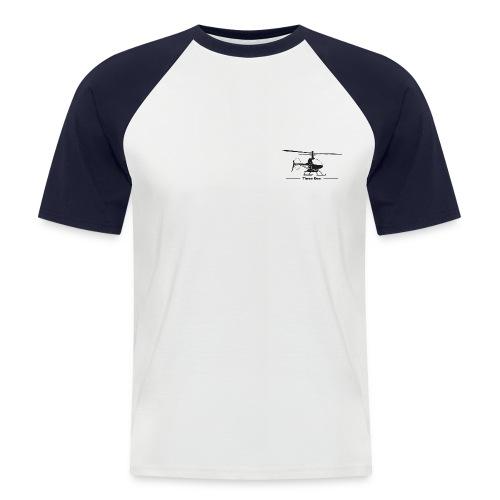 Three Dee - Männer Baseball-T-Shirt