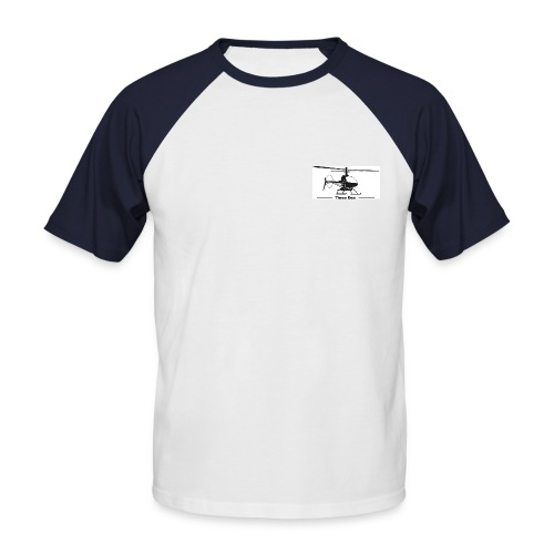 Three Dee - Männer Baseball-T-Shirt