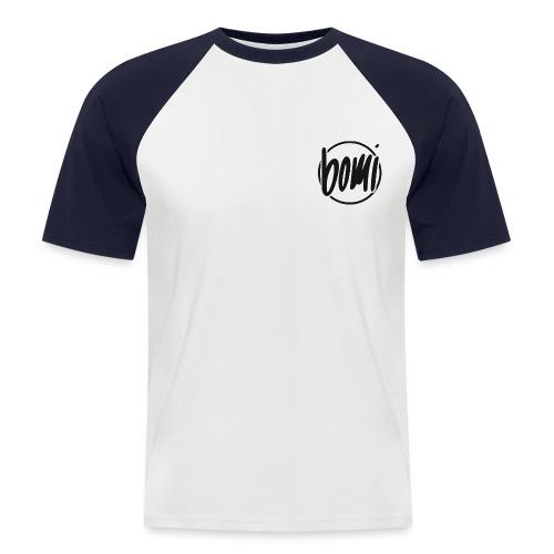 bomi logo png groter png - Mannen baseballshirt korte mouw